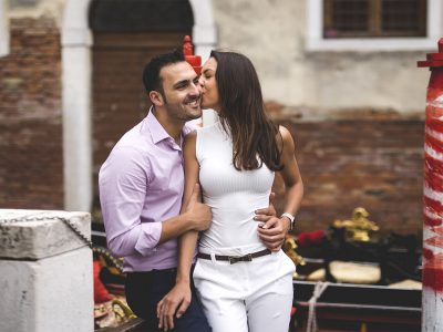 Daniel & Julia - A romantic pre wedding in Venice, Italy