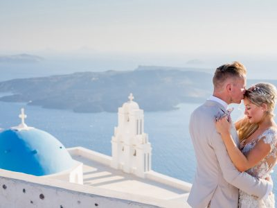 TOMMY & JOELLE, WEDDING AT ROCABELLA, SANTORINI
