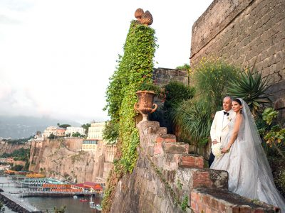 JOHN & DIMITRA, WEDDING AT VILLA ASTOR, SORRENTO ITALY